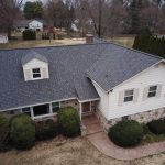 Wayne PA asphalt shingle roof with dormer