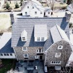 Wynnewood, PA stone home with asphalt roof