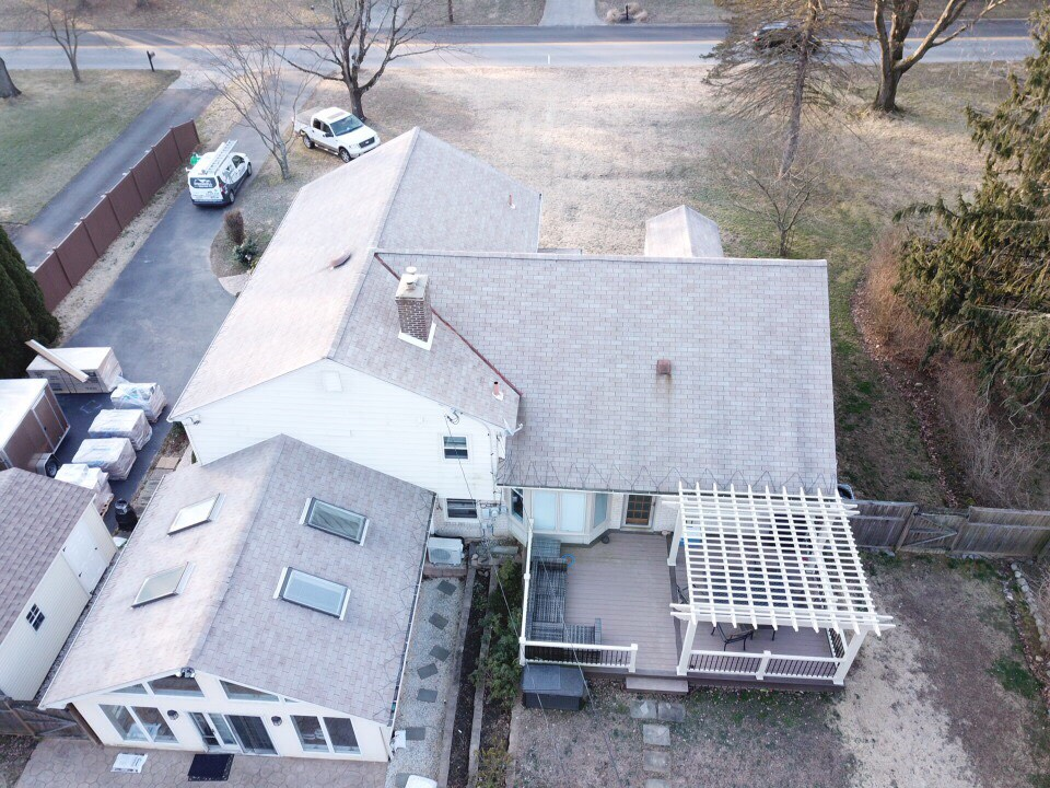 Wayne, PA Roof - Before Picture